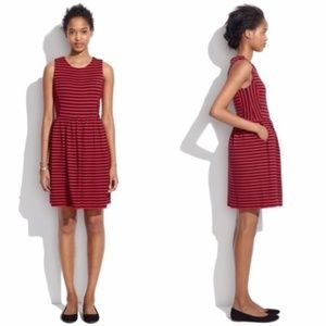 Madewell Afternoon Striped Dress